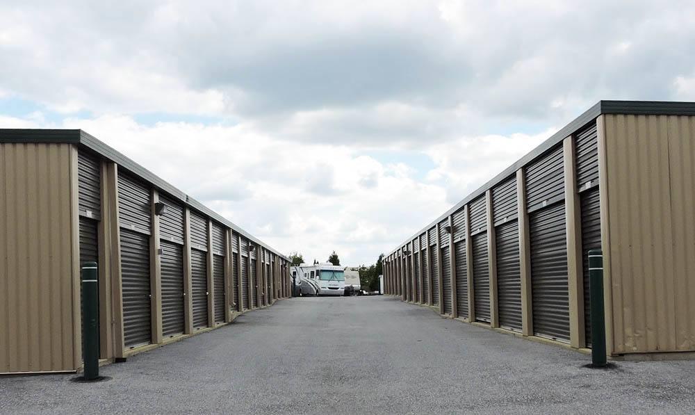 storage units at Global Self Storage in Sadsburyville, PA