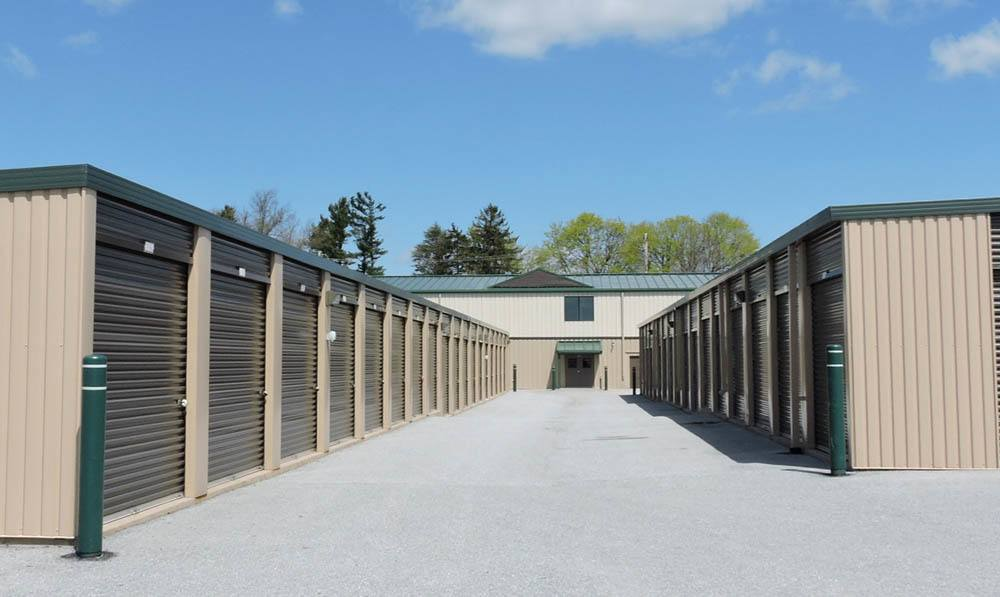 spacious storage units at Global Self Storage in Sadsburyville, PA