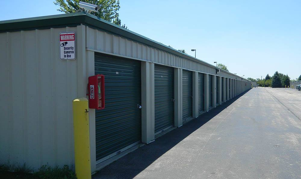 outdoor units at Global Self Storage in Bolingbrook, IL