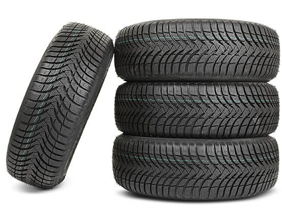 Most facilities won't allow more than four tires to be stored