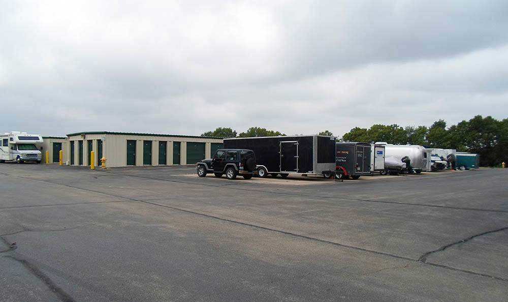 rv and boat storage at Global Self Storage in Bolingbrook, IL