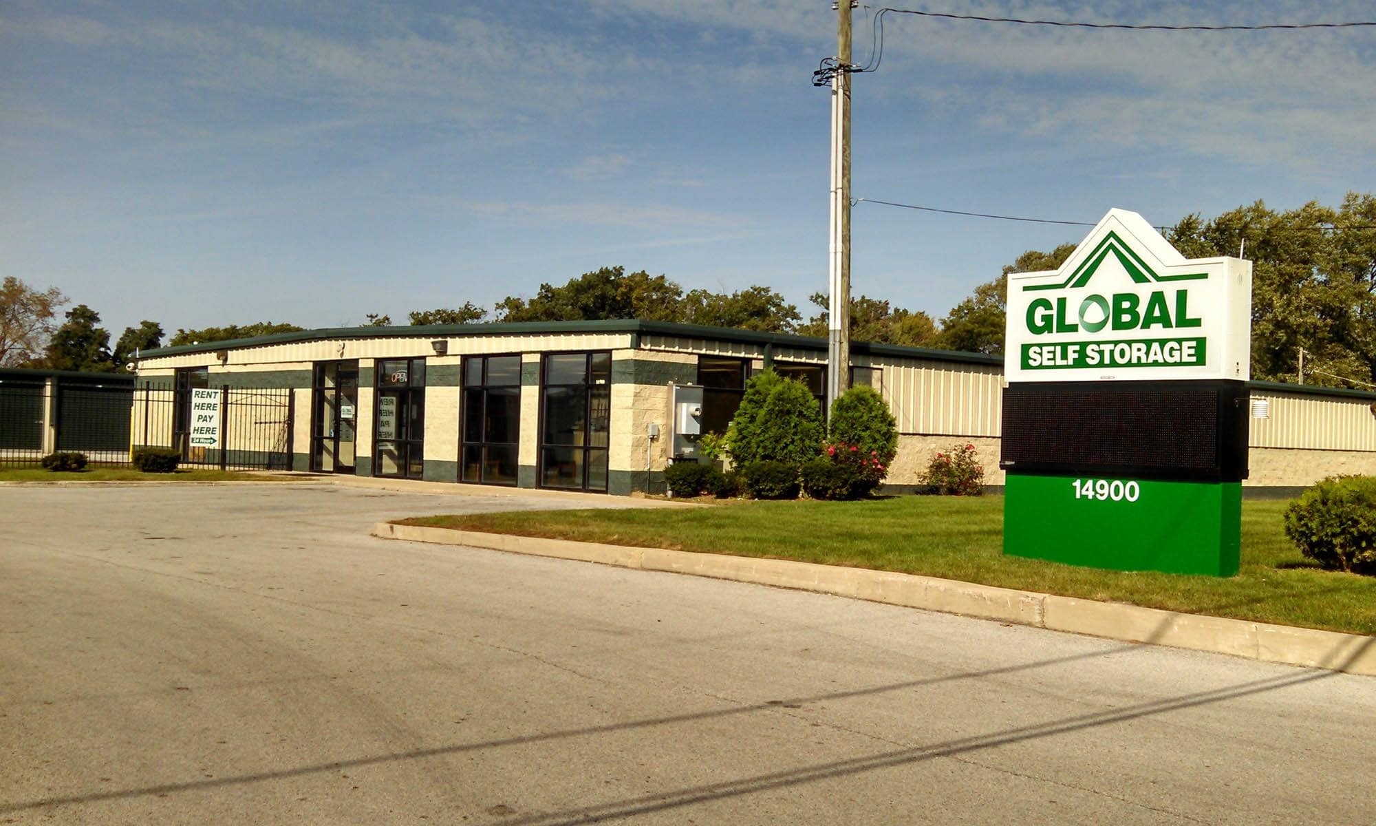 Self Storage available at Global Self Storage in Dolton, IL