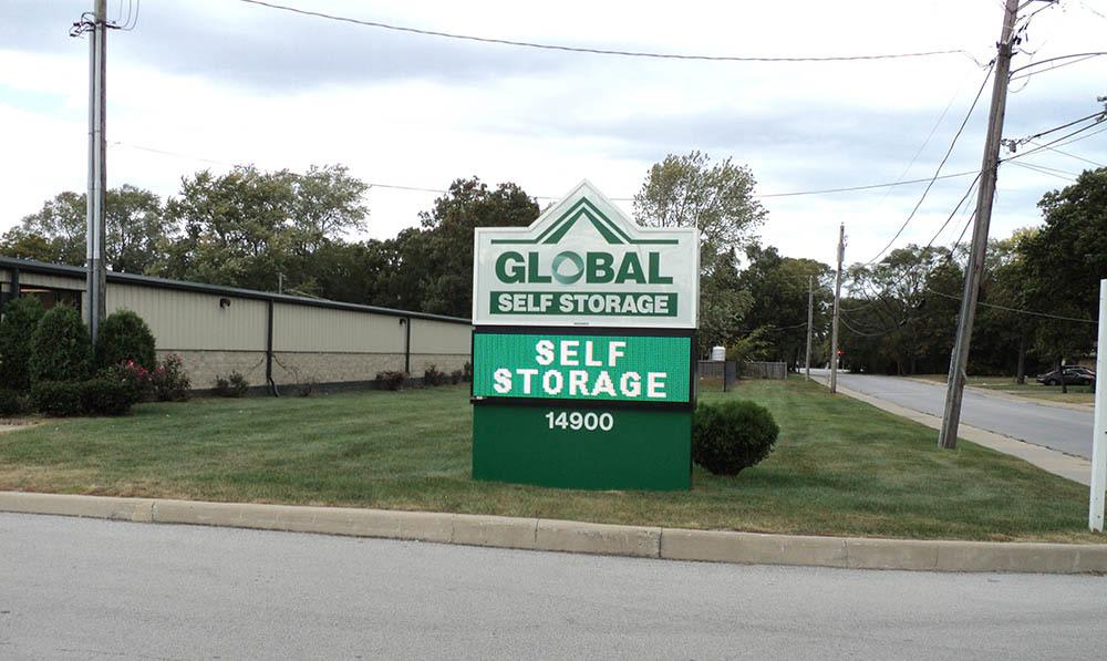 Visit today for great self storage at Global Self Storage