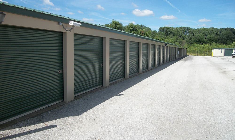exterior units at Global Self Storage in Merrillville, IN