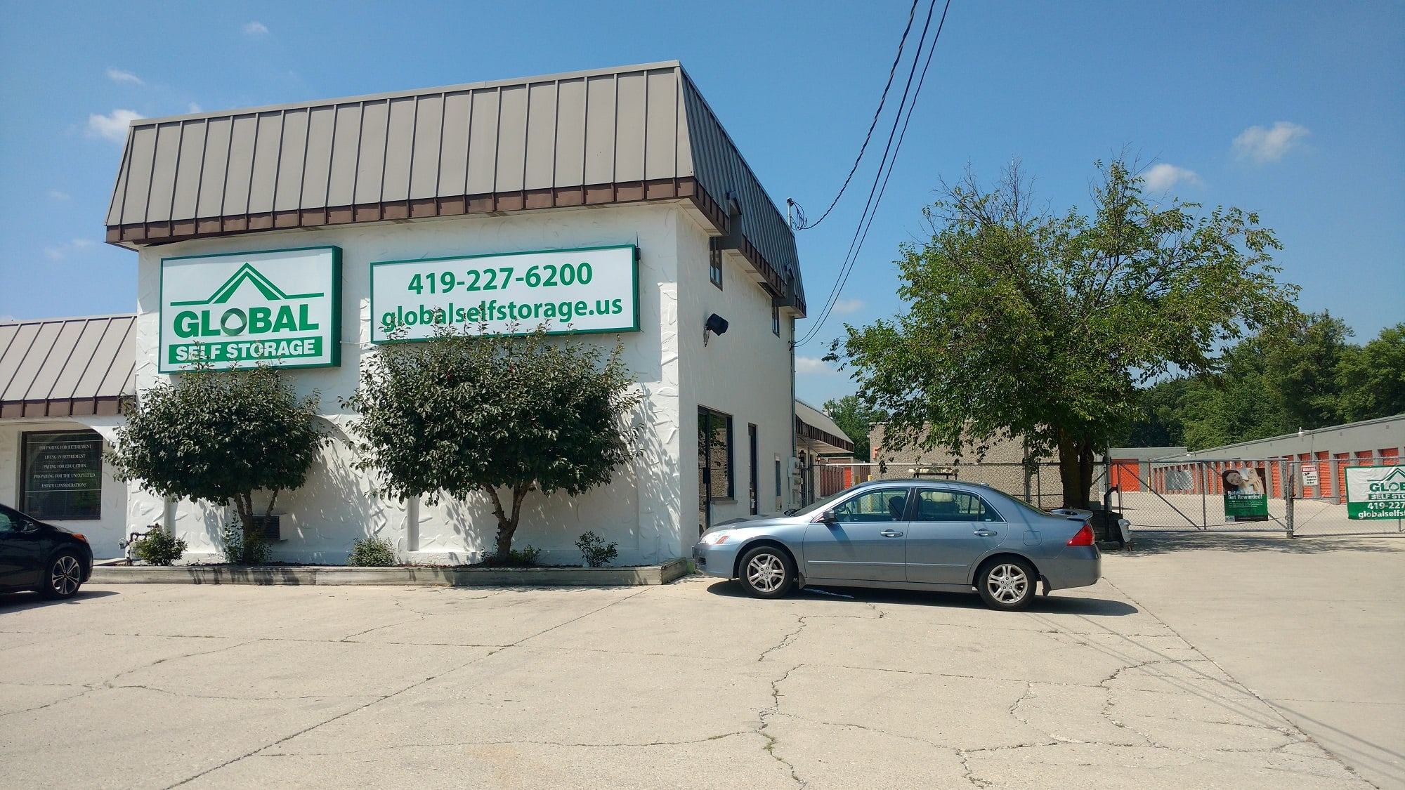 Self Storage available at Global Self Storage in Lima, OH