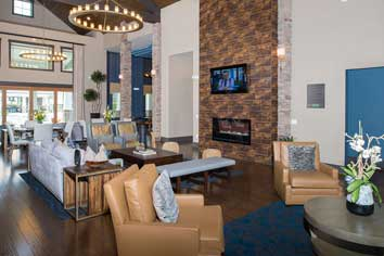 fantastic sports bar at apartments in Fredericksburg