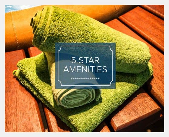 5 star amenities at our luxury resort apartments for rent in Fredericksburg