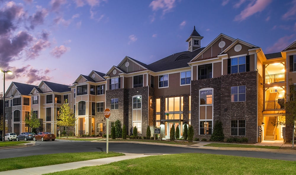 Exterior Of Apartments In Huntersville