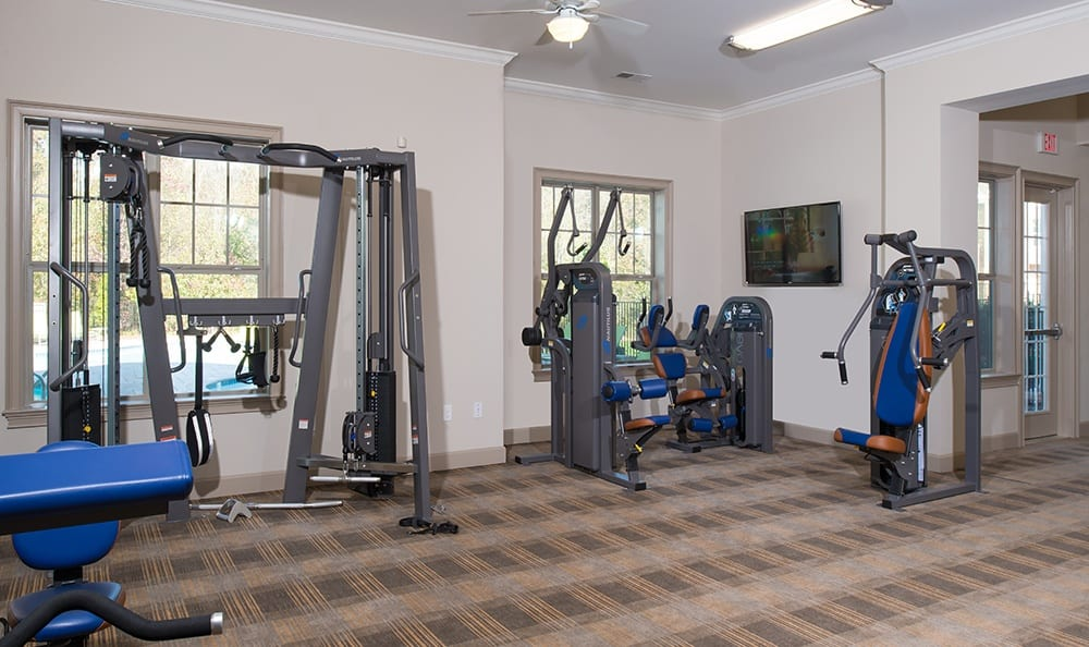 Fitness Center At Apartments In Huntersville