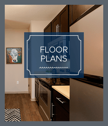 Floor plans at Huntersville resort apartments