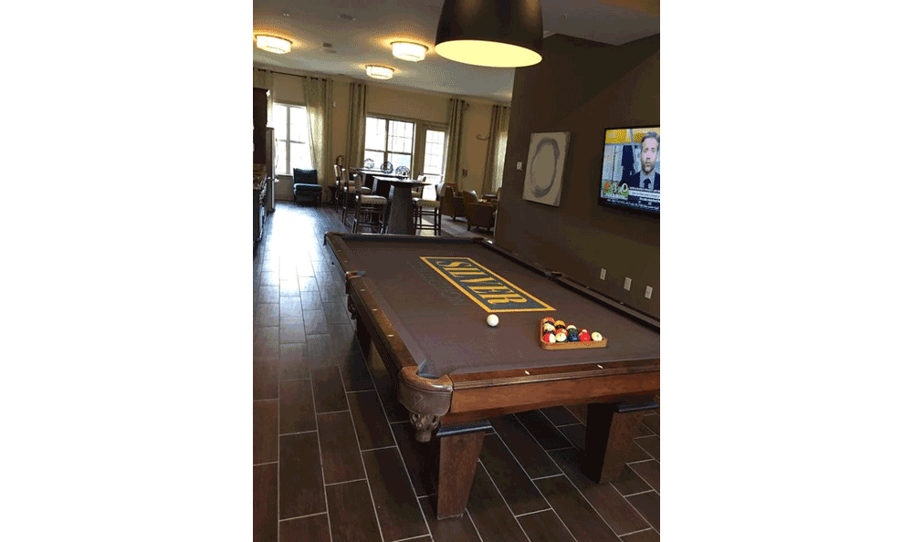 Game room at Silver Collection, at Waterford