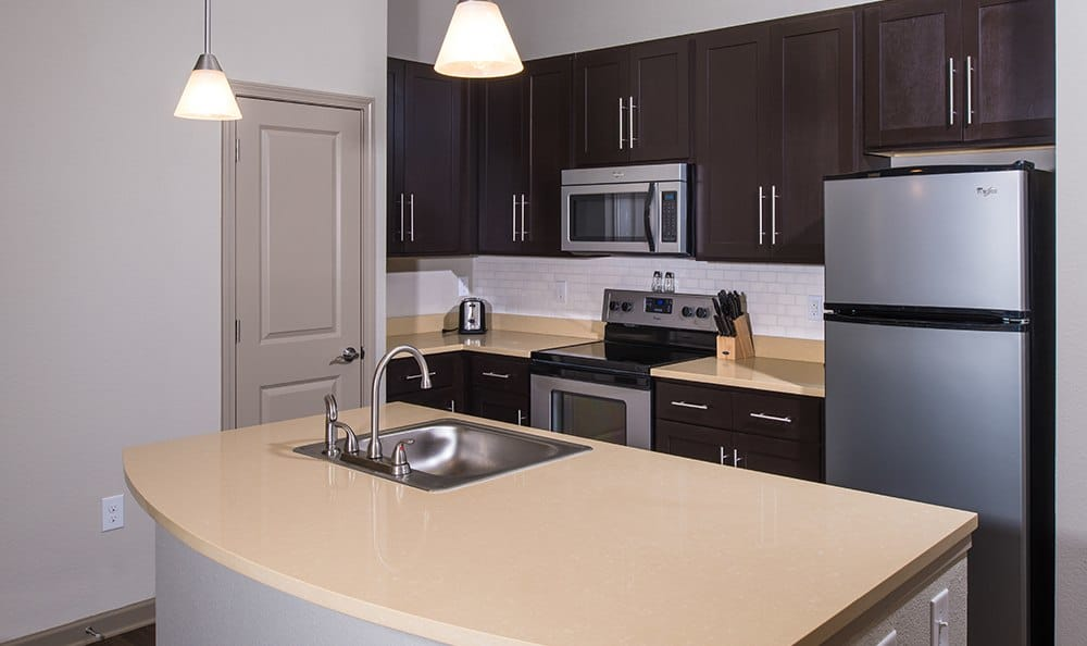 Open Kitchen At Apartments In Huntersville