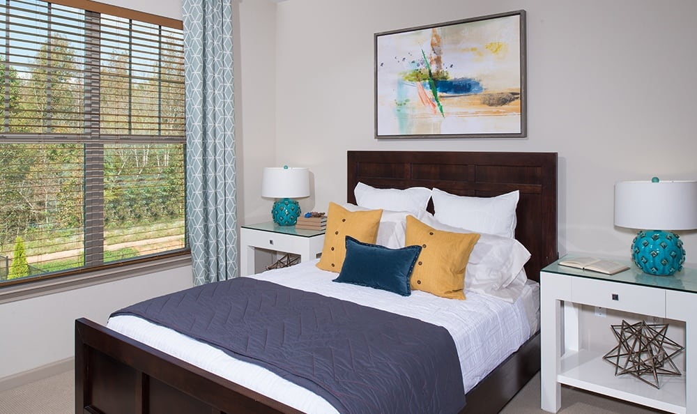 Spacious Bedrooms At Apartments In Huntersville