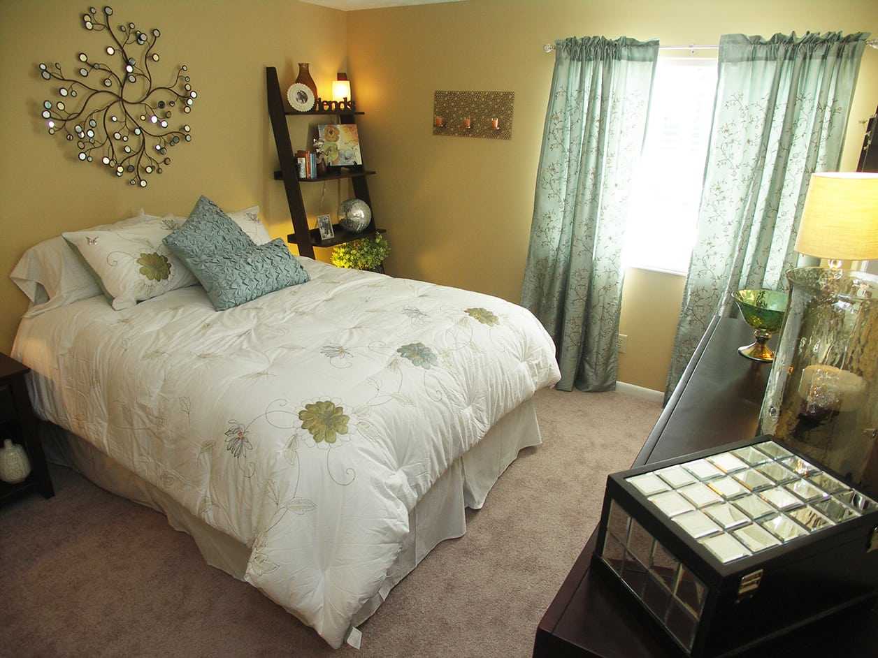 Bedroom at Fox Chase Apartments