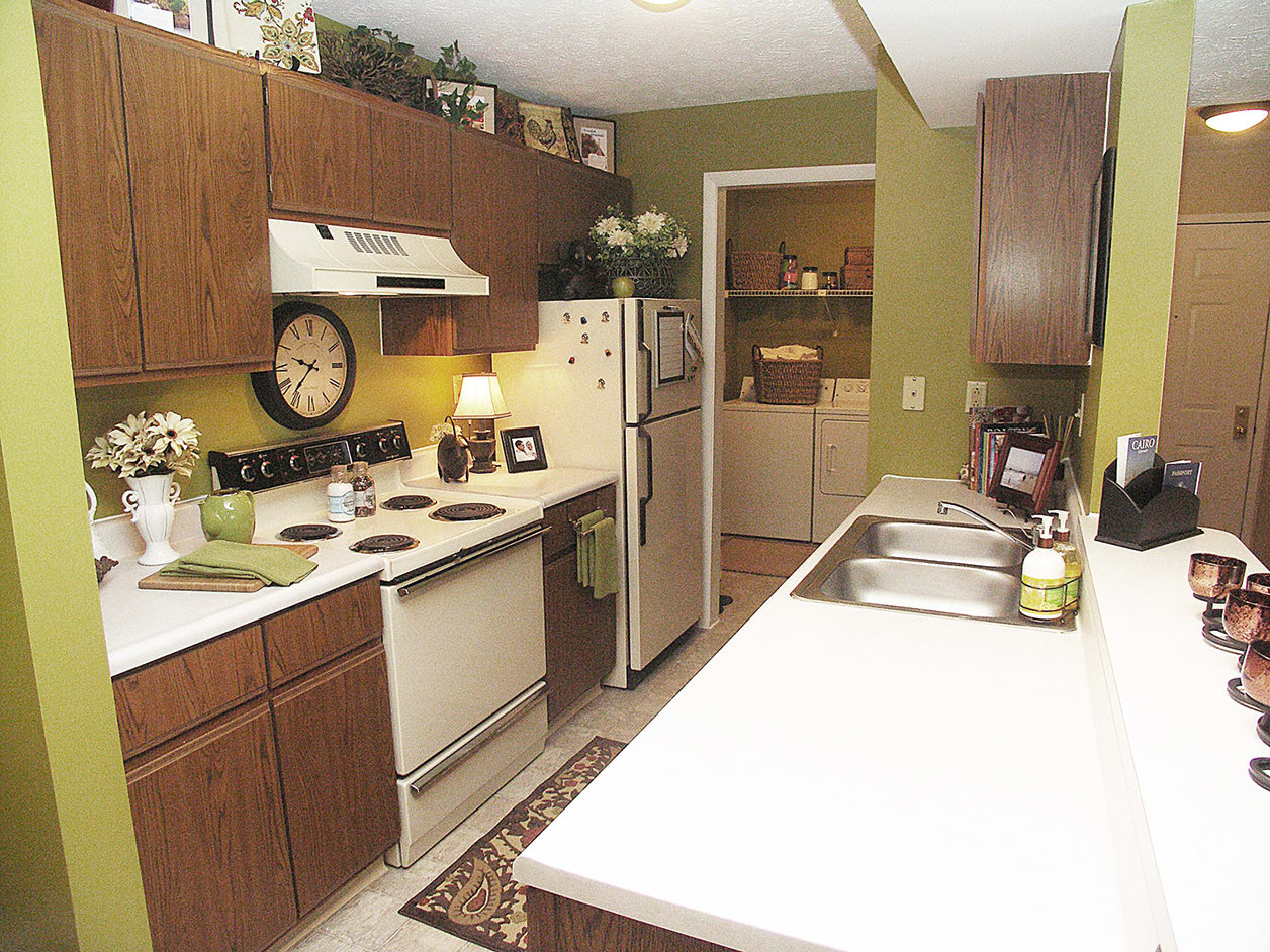 Kitchen at Fox Chase Apartments