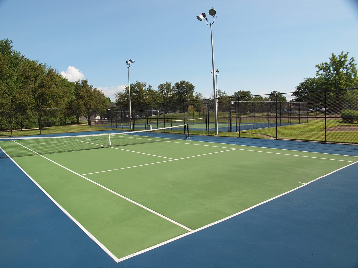 Tennis Court at Fox Chase Apartments