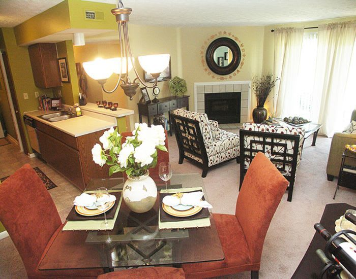 Fox Chase Apartments offers spacious kitchens