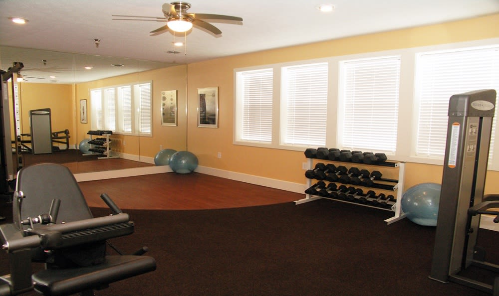 Gym at Island Club Apartments
