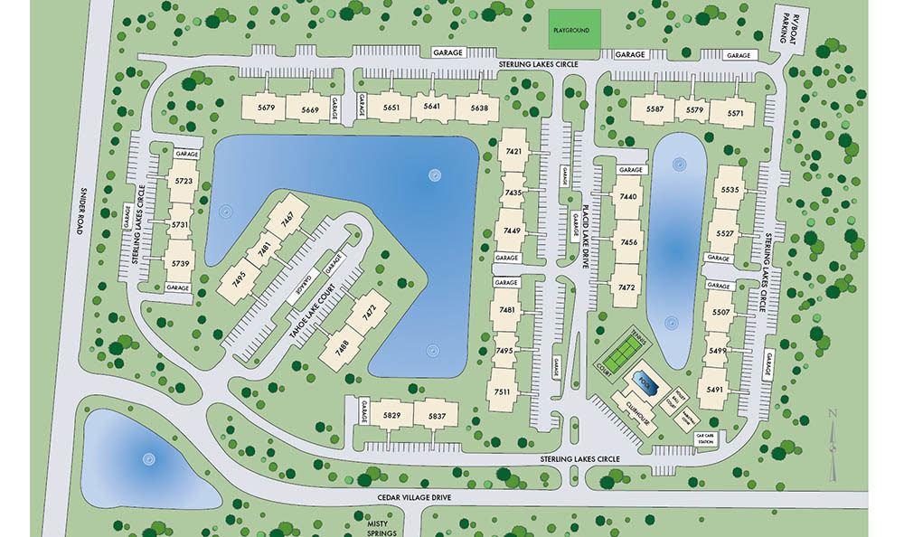Sitemap Of Apartments In Mason Ohio