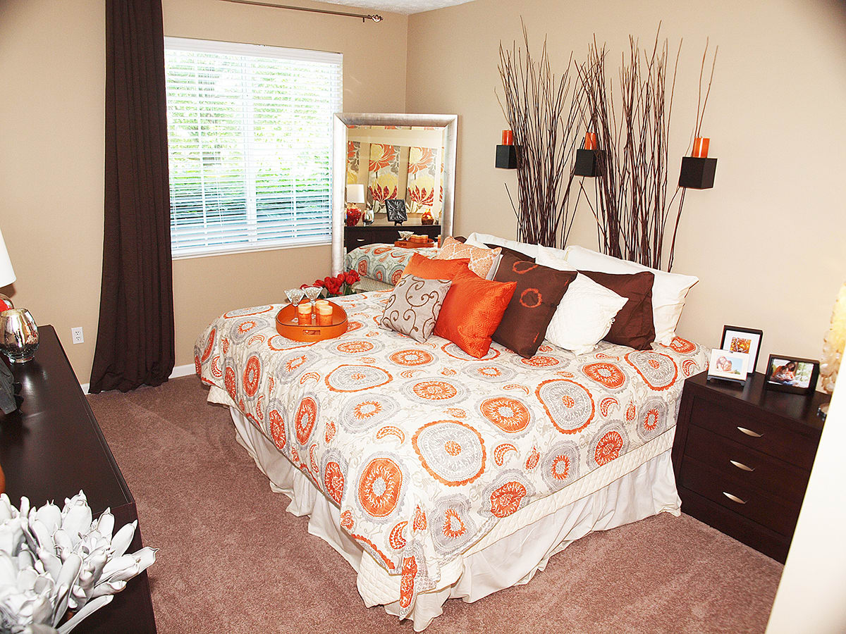 Master bedroom at Sterling Lakes in Mason, Ohio