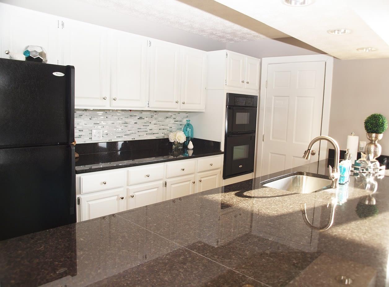 Kitchen at Mallard Landing Apartments