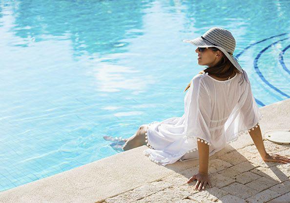 Enjoy some pool time at Mallard Landing Apartments