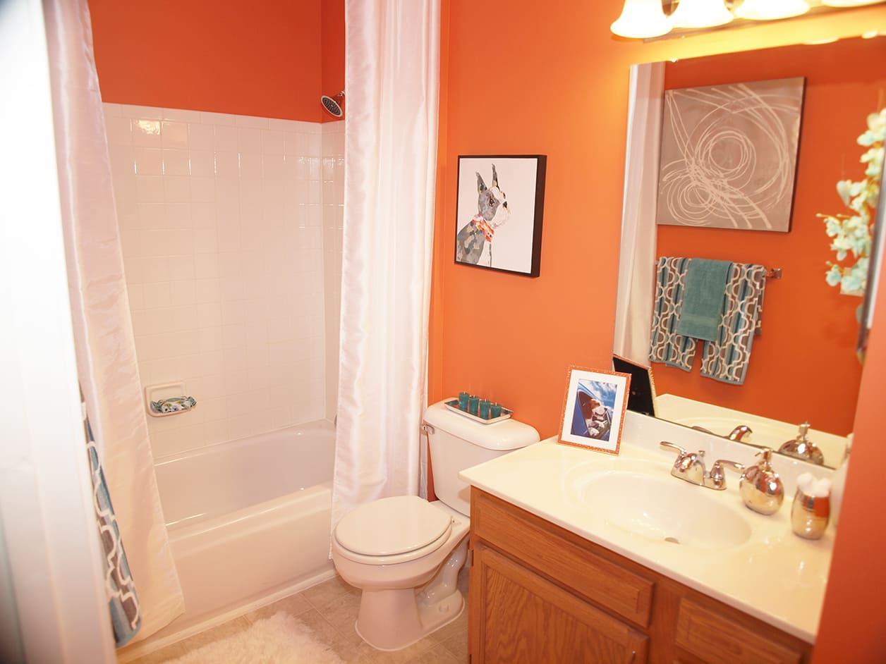 Bathroom at Shadow Ridge in Louisville, KY