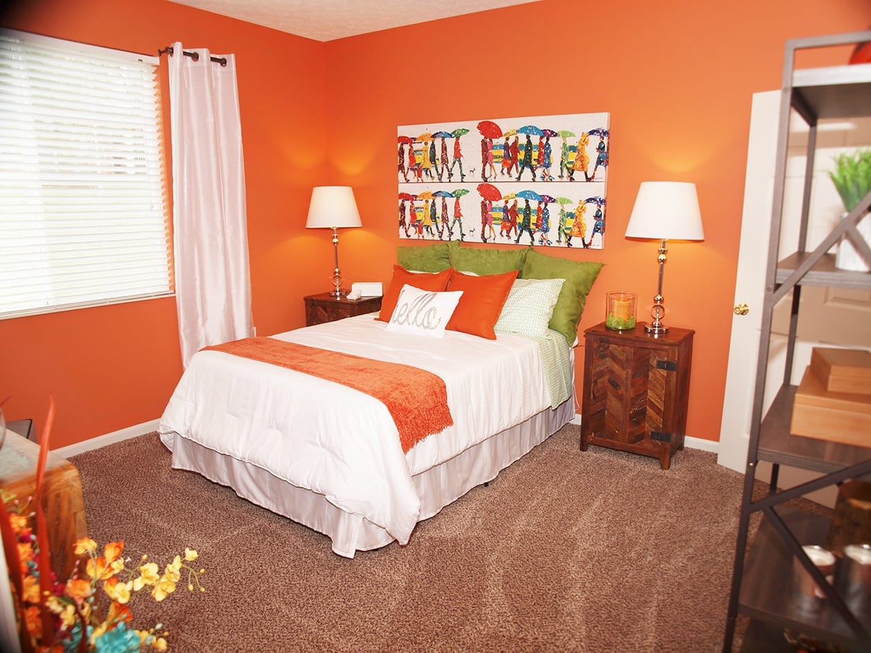 Bedroom at Shadow Ridge in Louisville, KY