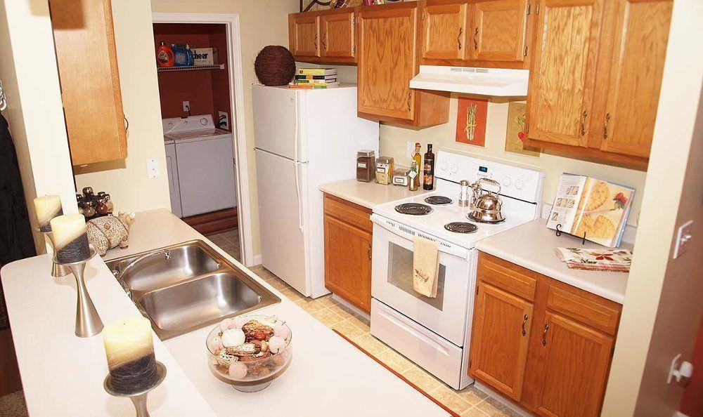 Kitchen at Wellington Place Apartments