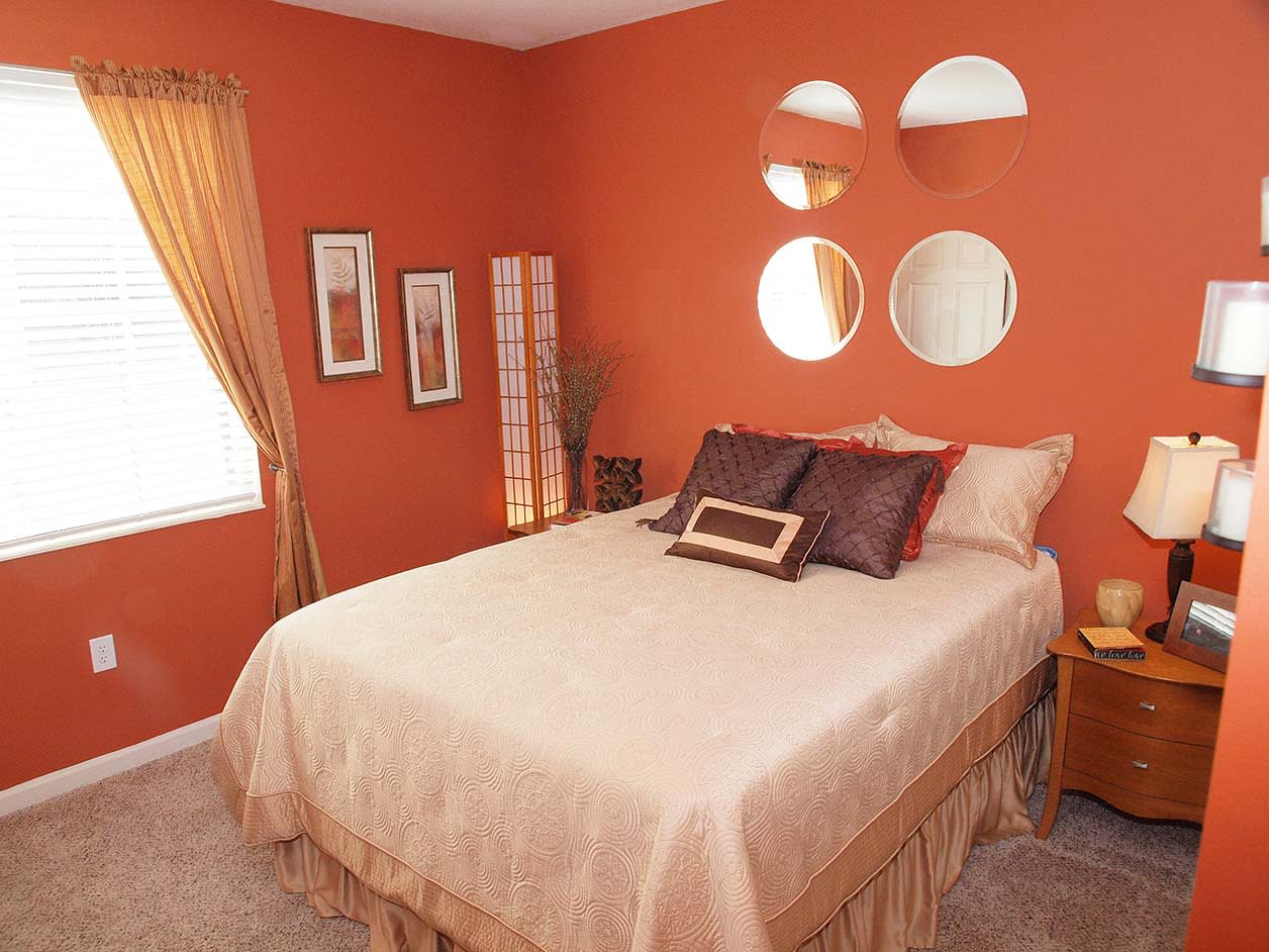 Bedroom at Wellington Place Apartments