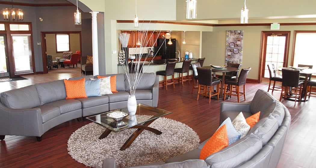 Wellington Place Apartments offers a great clubhouse