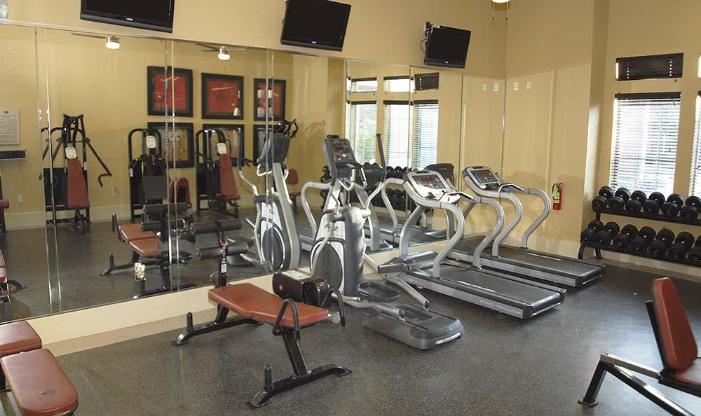Fitness center at Madison on the Meadow
