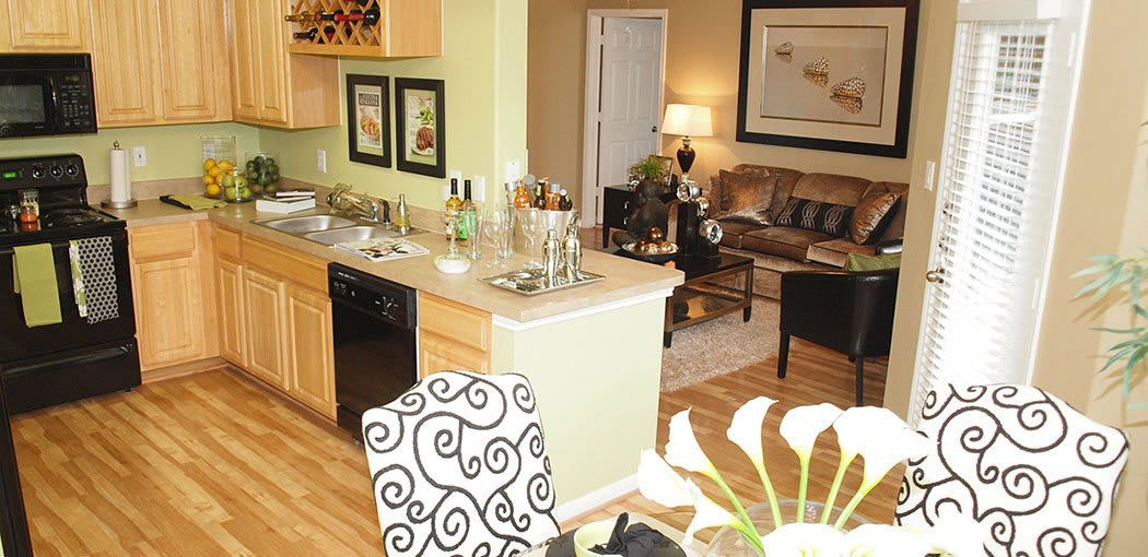 Madison on the Meadow offers spacious kitchens