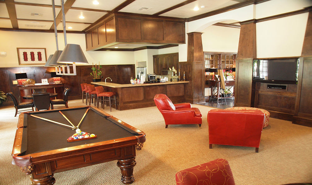 Clubhouse room at Madison on the Meadow