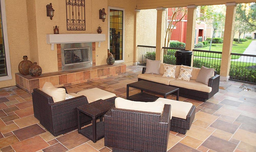 Patio at Summerwind Apartments