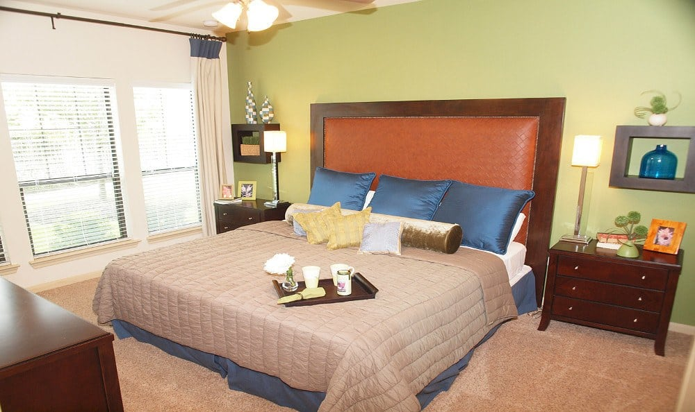 Second bedroom at Summerwind Apartments