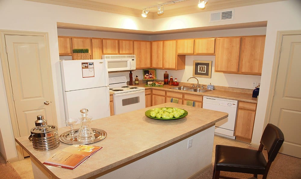 Kitchen at Summerwind Apartments