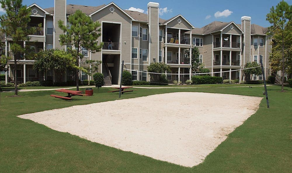 Volleyball courts at The Reserve by the Lake