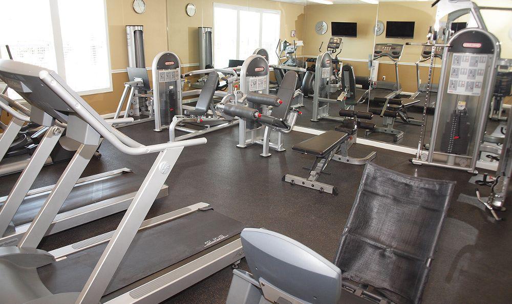 fitness center at The Landings at Beckett Ridge in