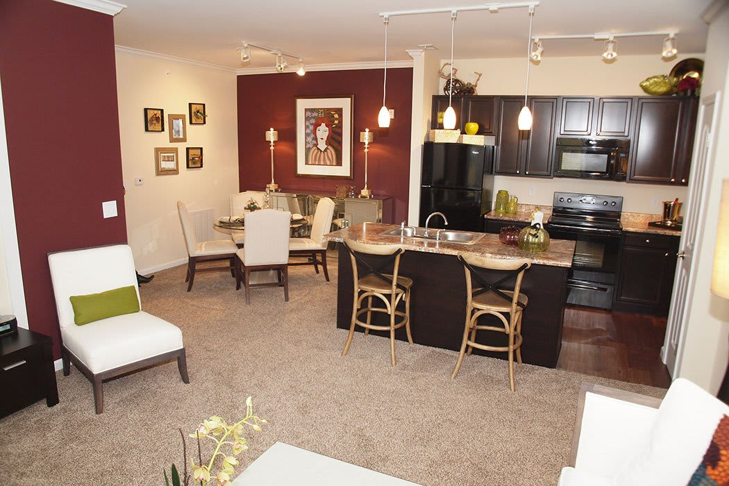Brinley Place Apartments offers open floor plans