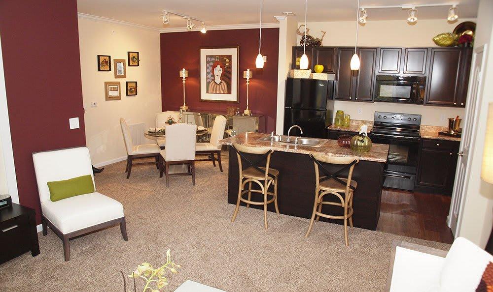 Open Floorplan At Apartments In Fairborn Ohio