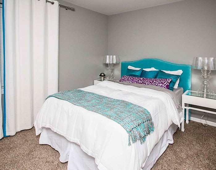 Reserve on Salisbury offers spacious bedroom