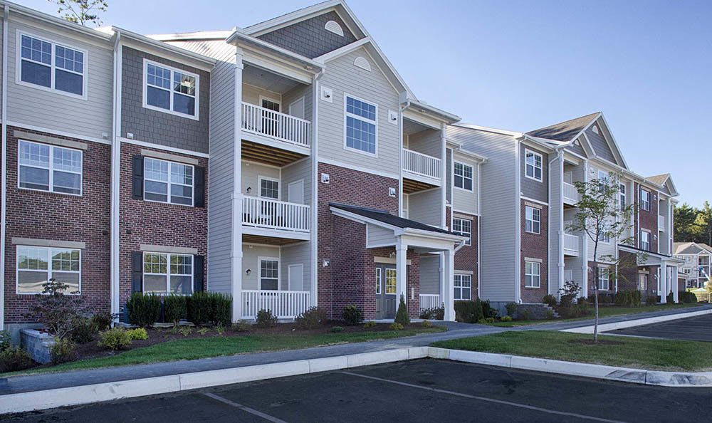 Exterior of apartments at Reserve on Salisbury