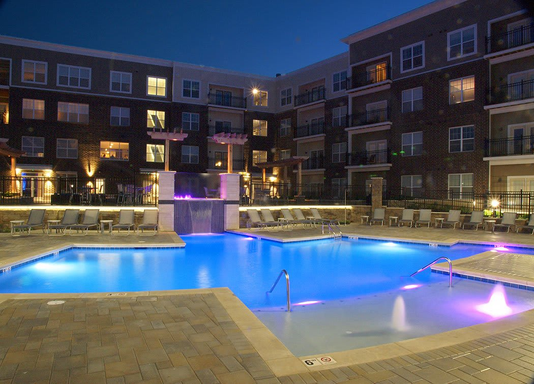 Swimming pool at Savoy at the Streets of West Chester
