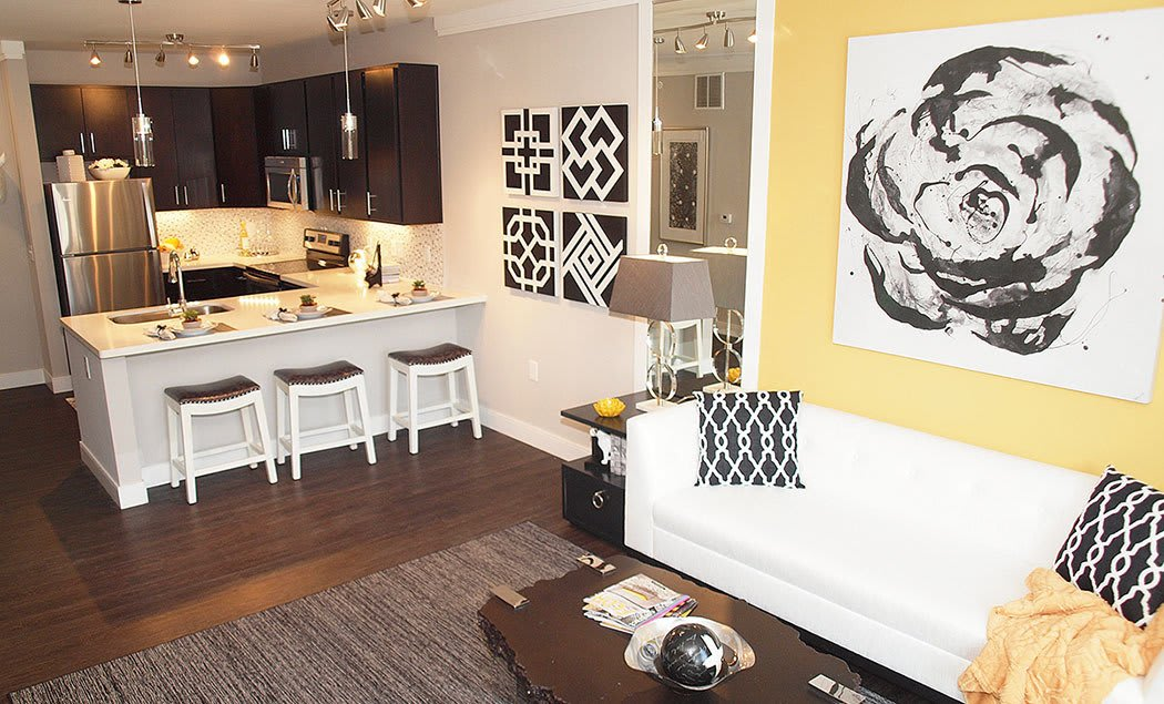 Savoy at the Streets of West Chester offers spacious kitchens