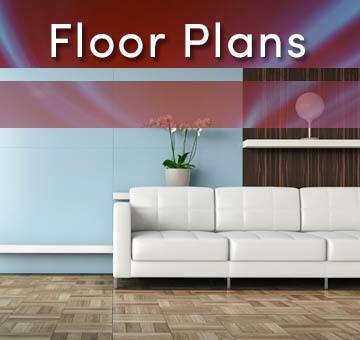 Floor plans for 49Hundred