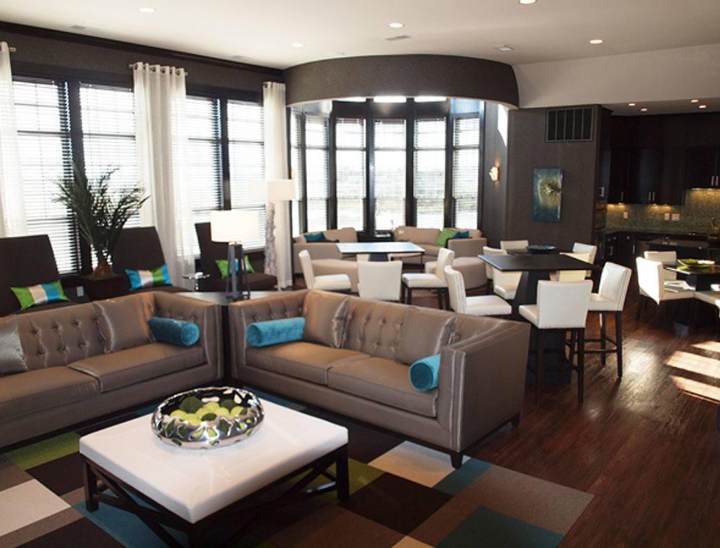 Community room at Palmera Apartments