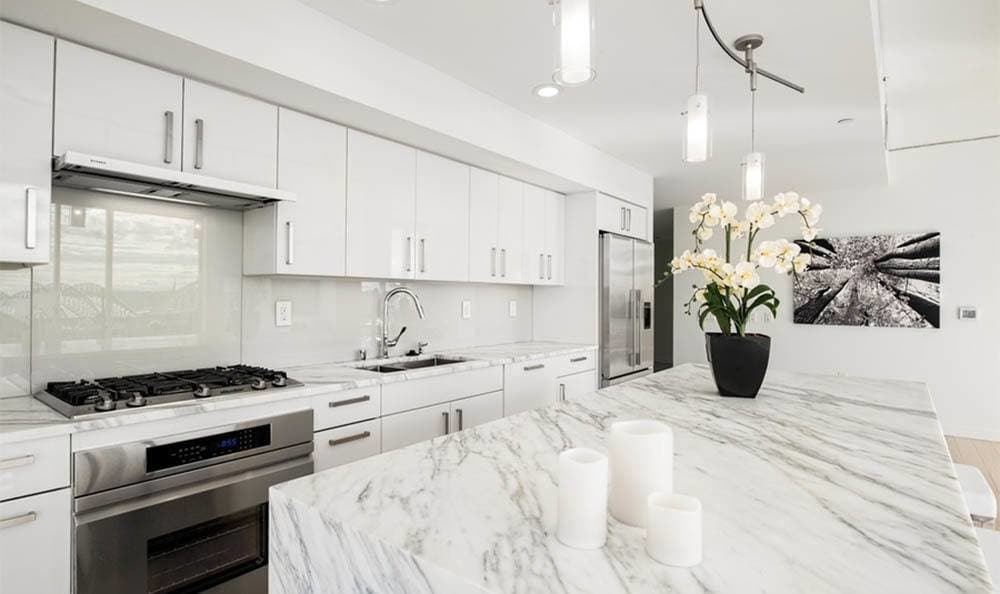 Luxury Kitchens at Apartments in Seattle