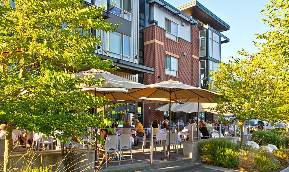 Dining options at The Corydon in Seattle, WA