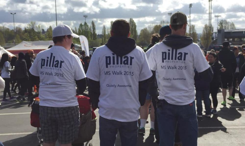Pillar Employees At Ms Walk